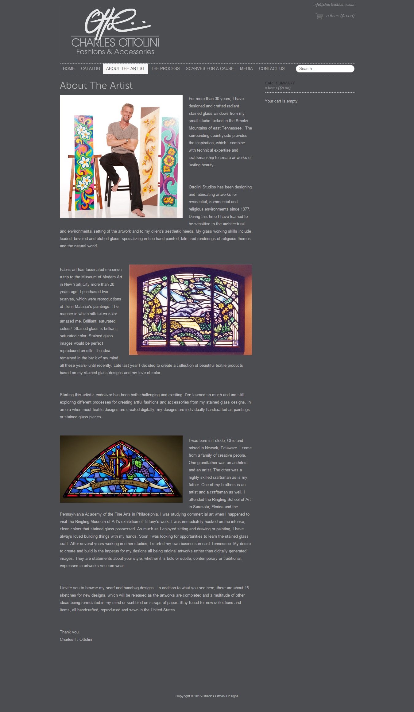 Charles Ottolini Designs Page