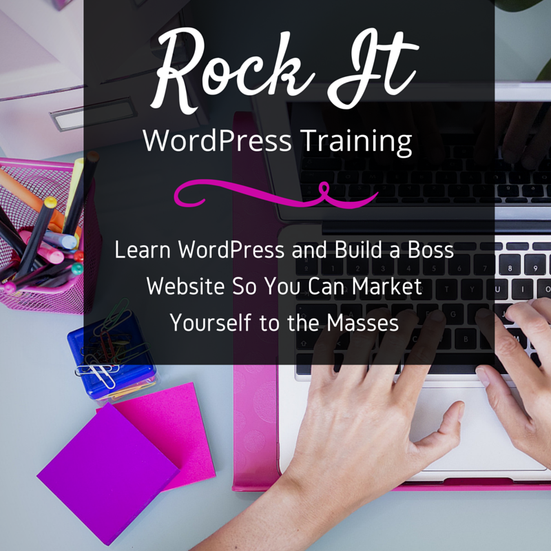 ROCK ITWordPress Training